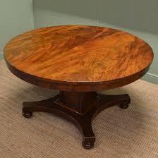 antique mahogany pedestal table william iv mahogany circular antique pedestal dining table