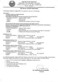 Upholstery Job Vacancies Careers Mpc U2013 Marikina Polytechnic College