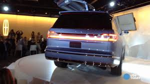 lincoln jeep 2016 gullwing doors wow n y auto show crowd in new lincoln navigator