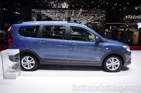renault lodgy dacia lodgy 2014 geneva motor show side indian autos blog