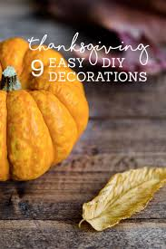 thanksgiving decorations that you can make yourself orchard
