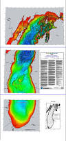Map Of Michigan Lakes Bathymetry Of Lake Michigan Ncei