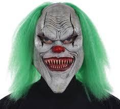 Scary Clown Halloween Costumes Men Clown Masks Clown Masks