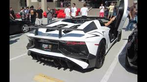 lamborghini aventador rev lamborghini aventador sv roadster w startup rev sound