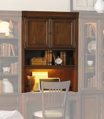 cherry desk with hutch hooker furniture home office cherry creek wall desk hutch 258 70 437