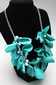 jewelry ribbon necklace images Make a designer inspired pearl and ribbon necklace dollar store jpg