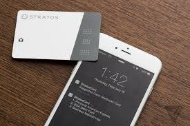 Starbucks Business Cards Stratos Is Not Just Another All In One Smart Card The Verge