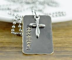 Personalized Mens Necklaces Mens Dog Tag Necklace Mens Necklace Personalized Dad Gift