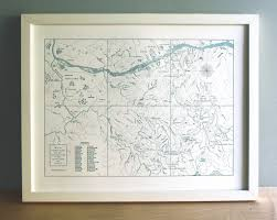 Maps Portland Oregon by Portland Oregon Columbia River Gorge Mount Hood Map Quail Lane