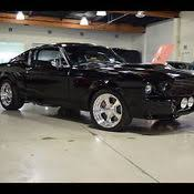 1968 Mustang Fastback Black 1968 Ford Mustang Gt 485 Miles Rangoon Red Fastback 428 Cobra Jet