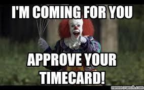 Timecard Meme - image jpg
