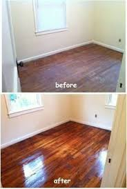 Restore Hardwood Floor - how to clean old hardwood floors that have been under carpeting
