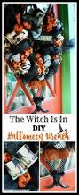 the witch is in diy halloween wreath u2013 home is where the boat is