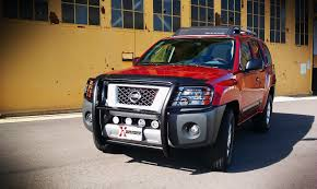 nissan xterra 2011 sold brush guard u0026 tail light cages second generation nissan