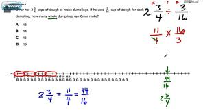 Multiplying Fractions By Whole Numbers Worksheets Common Core Math Test Grade 6 15 Dividing Mixed Numbers 2015