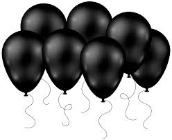 black balloons black balloons transparent png clip image gallery