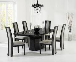 Black Marble Dining Room Table by Como 200cm Black Marble Dining Table Style Our Home