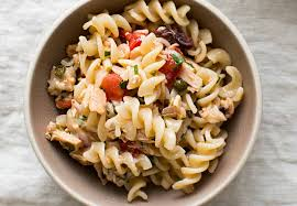 pasta salad with tuna mediterranean tuna pasta recipe simplyrecipes com