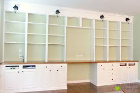 Modern Built In Desk by 28 Creative Bookcases Built Into Wall Yvotube Com