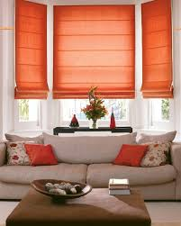 Curtains In The Kitchen by Roman Curtains In The Kitchen Brick Red Ceramic Tile Or Stained