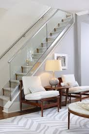suzie sarah richardson design gray glass staircase walls paint