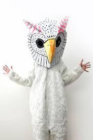Snowy Owl Halloween Costume Minute Diy Halloween Ideas Petit U0026 Small