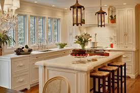 Island Ideas For Small Kitchen Small Kitchen With Island Ideas Metal Frame Bar Stools White Range