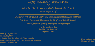 indian wedding invitation wordings wedding invitation wording sles 006
