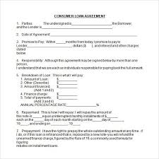 doc loan form template u2013 5 loan agreement templates to write