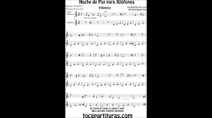 silent night carol sheet music for xylophone and metallophone