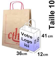 sac en toile personnalisable sac papier kraft personnalisé taille 10 pour boutiques et agences