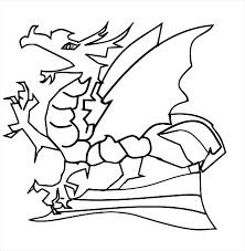 chinese dragon coloring pages easy 9 dragon coloring pages free format download free free printable