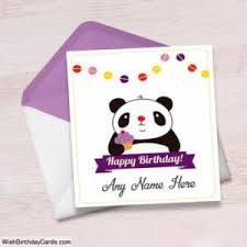 200 free birthday cards with name online greeting card