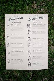 Wedding Ceremony Program Wedding Ceremony Program Ideas Wedding Party Illustrations Brides
