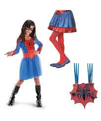 marvel spider superhero makeover kit girls costumes kids