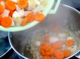 feu vif cuisine pâtisson aux carottes recette de cuisine alcaline