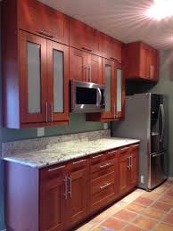 Beautiful Grimslov Medium Brown IKEA Kitchen Cabinets Accented - Medium brown kitchen cabinets