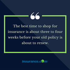 a check list on how to change car insurance companies to save money