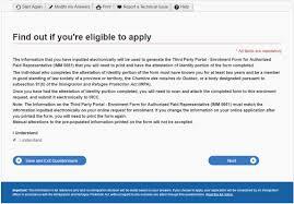 Simple Authorization Letter Act Behalf enrolment guide authorized paid representatives portal