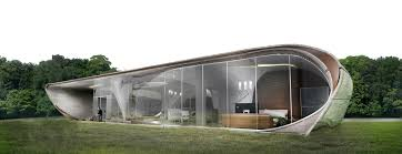 conceives the world u0027s first freeform 3d printed house