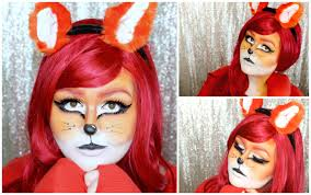 halloween cartoon makeup fox halloween makeup tutorial youtube
