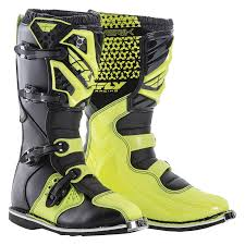 black dirt bike boots new fly racing 2018 mx maverik dirt bike hi vis yellow black