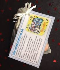 new home survival kit unusual novelty house warming gift moving