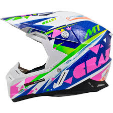 motocross bike helmets mt synchrony crazy motocross helmet off road dirt bike adjustable