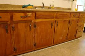 Before And After Painting Kitchen Cabinets Image Of Painting Oak Cabinets Brown Repainting Oak Kitchen