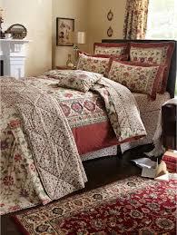 Double Bed Duvet Size V U0026 A Kalamkari Duvet Cover And Pillowcase Set In Single Double