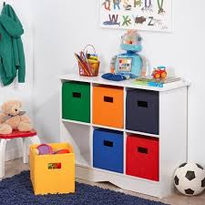 riverridge kids white 6 bin bookcase cabinet free shipping today