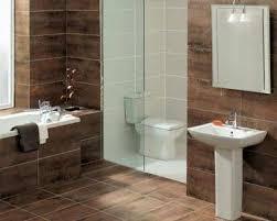Bathroom Tile Makeover - bathroom maximizing small bathroom makeover with dark wall tile