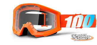 motocross goggles ebay 100 strata orange clear motocross off road dirt bike goggles ebay