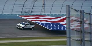 Ford Racing Flag Ford Super Duty Takes Flag Pull Record Ford Authority